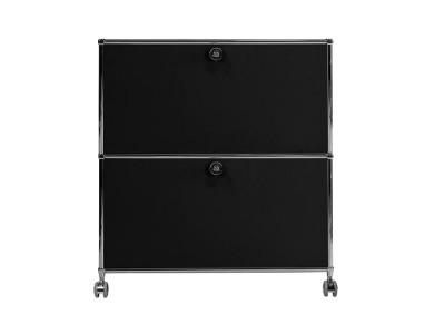 Image de la chaise design Mobiliario de oficina - AMMC201 Negro