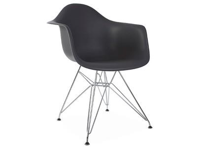 Image de la chaise design Silla DAR - Antracita