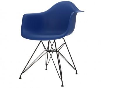 Image de la chaise design Silla DAR - Azul oscuro