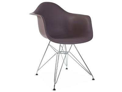 Image de la chaise design Silla DAR - Taupe