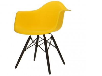 Image de la chaise design Silla DAW - Amarillo