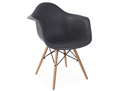 Image de la chaise design Silla DAW - Antracita