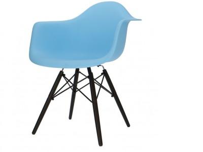 Image de la chaise design Silla DAW - Azul claro