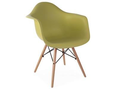 Image de la chaise design Silla DAW - Mostaza