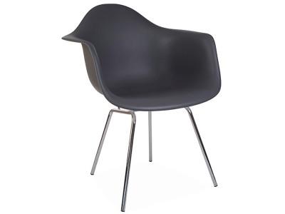 Image de la chaise design Silla DAX - Antracita