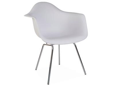 Image de la chaise design Silla DAX - Blanca