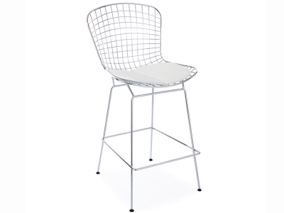 Image de la chaise design Silla de Bar Bertoia Wire