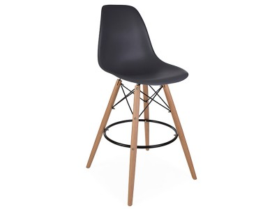 Image de la chaise design Silla de bar DSB - Antracita