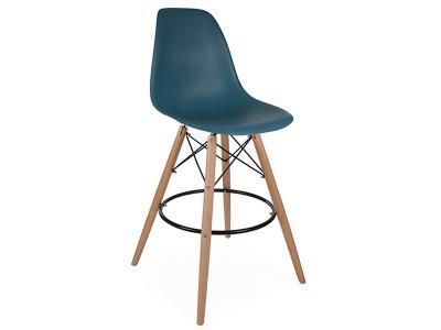 Image de la chaise design Silla de bar DSB - Azul verde