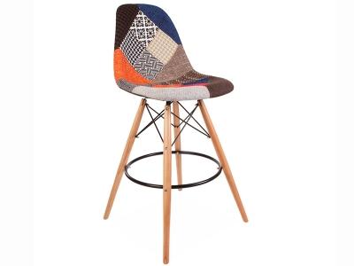 Image de la chaise design Silla de bar DSB -  Patchwork