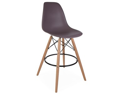 Image de la chaise design Silla de bar DSB - Taupe