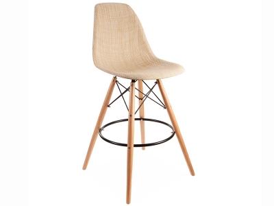 Image de la chaise design Silla de bar DSB Textura - Beige