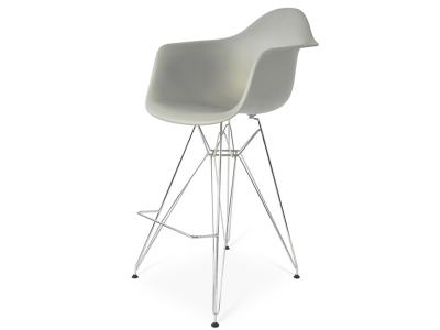 Image de la chaise design Silla de barra DAR - Gris