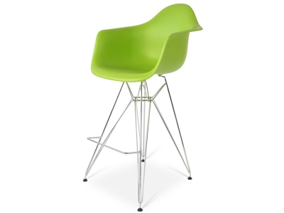 Image de la chaise design Silla de barra DAR - Manzana verde