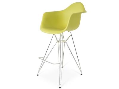 Image de la chaise design Silla de barra DAR - Verde oliva