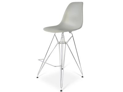 Image de la chaise design Silla de barra DSR - Gris