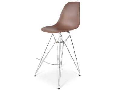 Image de la chaise design Silla de barra DSR - Marrón