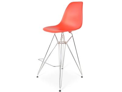 Image de la chaise design Silla de barra DSR - Rojo