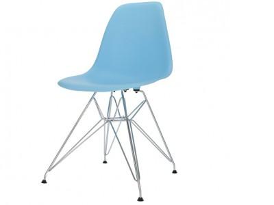 Image de la chaise design Silla DSR - Azul claro
