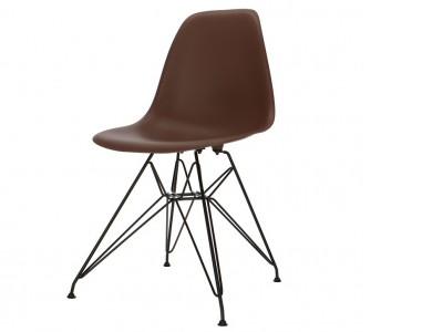 Image de la chaise design Silla DSR - Marrón