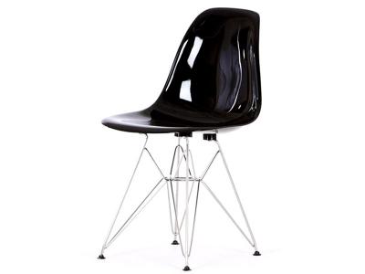 Image de la chaise design Silla DSR - Negro brillante