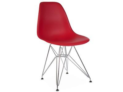 Image de la chaise design Silla DSR - Rojo granate