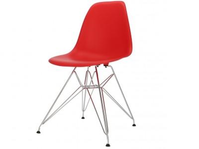 Image de la chaise design Silla DSR - Rojo
