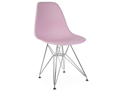 Image de la chaise design Silla DSR - Rosa pastel