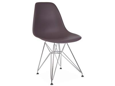 Image de la chaise design Silla DSR - Taupe