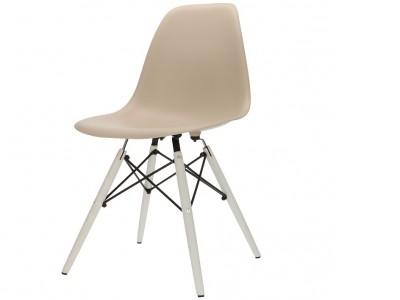 Image de la chaise design Silla DSW - Beige gris