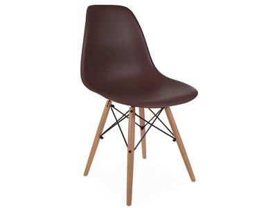 Image de la chaise design Silla DSW - Café