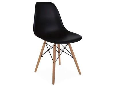 Image de la chaise design Silla DSW - Negra