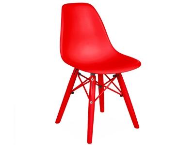 Image de la chaise design Silla DSW Niños Color - Rojo