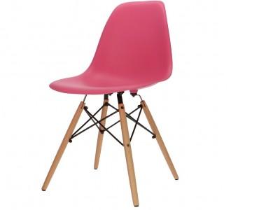 Image de la chaise design Silla DSW - Rosa