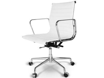Image de la chaise design Silla Eames Alu EA117 - Blanco