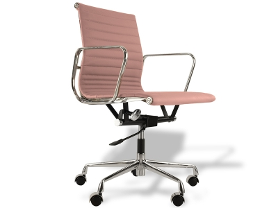 Image de la chaise design Silla Eames Alu EA117 - Rosa