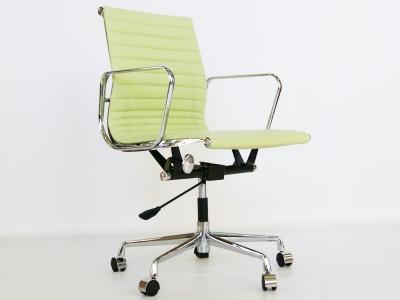 Image de la chaise design Silla Eames Alu EA117 - Verde limón
