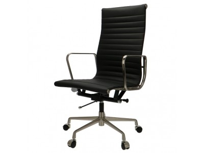 Image de la chaise design Silla Eames Alu EA119 Premium  - Negro