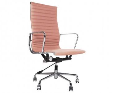 Image de la chaise design Silla Eames Alu EA119 - Rosa