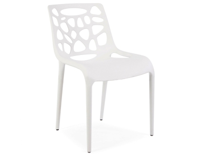 Image de la chaise design Silla Elf - Blanco