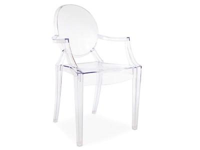 Image de la chaise design Silla Ghost niño - Transparente