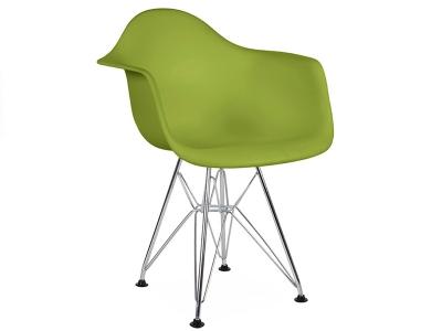 Image de la chaise design Silla Nino Eames DAR - Verde