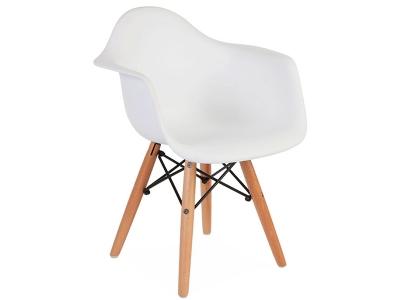 Image de la chaise design Silla Nino Eames DAW - Blanca