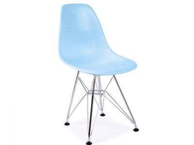 Image de la chaise design Silla Nino Eames DSR - Azul