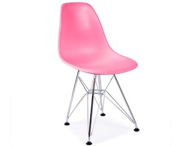 Image de la chaise design Silla niño Eames DSR - Rosa