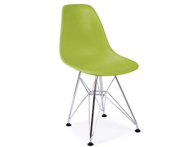 Image de la chaise design Silla Nino Eames DSR - Vert