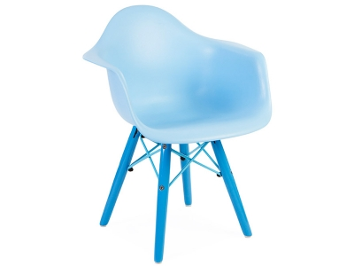 Image de la chaise design Silla Niños Eames DAW Color - Azul