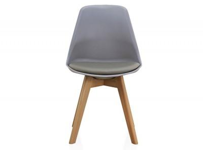 Image de la chaise design Silla Orville Milou - Gris