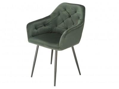 Image de la chaise design Silla Orville Vinny - Terciopelo Verde