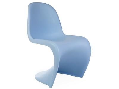 Image de la chaise design Silla Panton - Azul